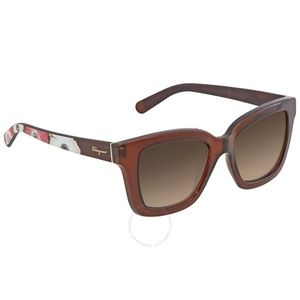 Salvatore Ferragamo | Floral/Brown Sunglass